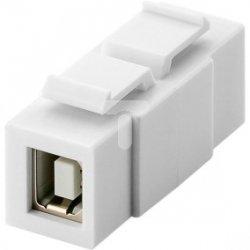 Keystone moduł USB 2.0 - gniazdo USB-B > gniazdo USB-B 79925