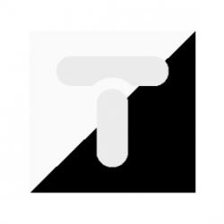 Złączka przelotowa 1/2, dwumateriałowa