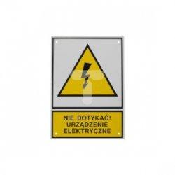 Tabliczka /znak ostrzegawczy/ TZO 148X210FE /N.D.U.E./ E04TZ-01010402210