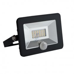 Naświetlacz LED z czujnikiem ruchu GRUN LED N-10-B-SE 31066