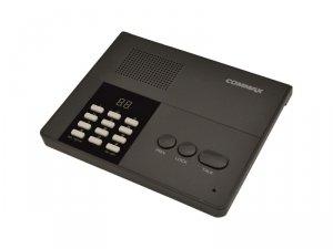 CM-810M do systemu równorzędnego, max. 10 stacji w systemie, selektywny wybór, zasilanie 12V DC