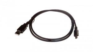 Kabel USB 1m czarny USB A/M wtyk - miniUSB B/M wtyk s/USB 2.0 AK-300108-010-S