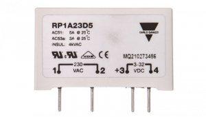 Przekaźnik półprzewodnikowy 1P do druku 5A 230V AC 4-32V DC RP1A23D5 2607514