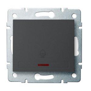 Łącznik zwierny dzwonek z LED DOMO 01-1080-241 gr 24898