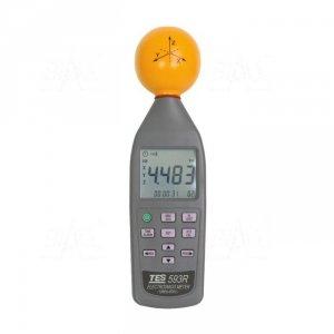 TES 593R Miernik pola elektromagnetycznego 3 osiowy 10MHz-8GHz 108V/m TES