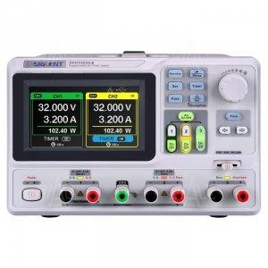 SPD3303X-E zasilacz lab. programowalny DC 2x30V/3A, 1x 2.5V/3.3V/5V/3A, rozdz.10mV,10mA,