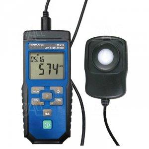TM215 Luksomierz 0,1~400 000 lx DIN 5032-7 logger/rejestrator USB TENMARS
