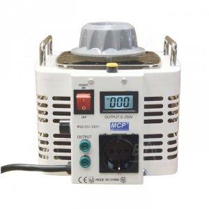 Autotransformator reg.  M10-522LCD-30 260V/12A 3kVA MCP