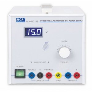 Zasilacz lab symetryczny M10-DC152 DC +15V-15V/1,5A  30V/1,5A MCP