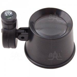 Lupa zegarmistrzowska LZ-3 21mm/6x  z podświetleniem LED