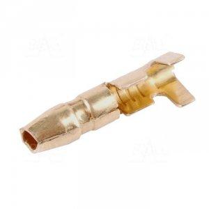 KNM2,5-4 Konektor okrągły nieizol. męski 4mm 100szt