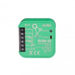Moduł sterowania gniazdkami i oświetleniem WiFi SUPLA ROW-02