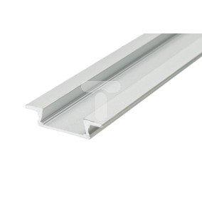 Profil wpuszczany aluminiowy anodowany 2m MINILUX WPUST do taśm led LUX06318