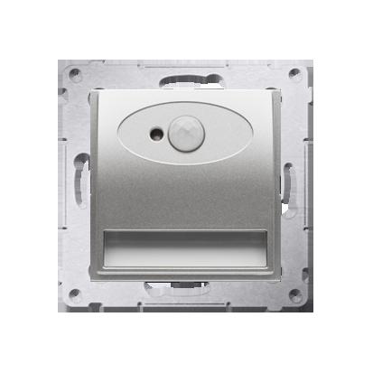 Oprawa oświetleniowa LED z czujnikiem ruchu, 230V srebrny mat, metalizowany
