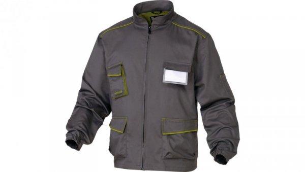 Bluza Panostyle z poliestru i bawełny szaro-zielona M M6VESGRTM