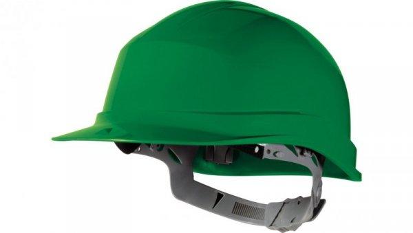 Hełm budowlany z polietylenu zielony regulowany 440 VAC ZIRC1VE