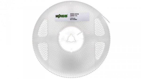 Oznaczniki WMB Inline szerokość 4 mm białe 2000 szt./rolka 2009-114