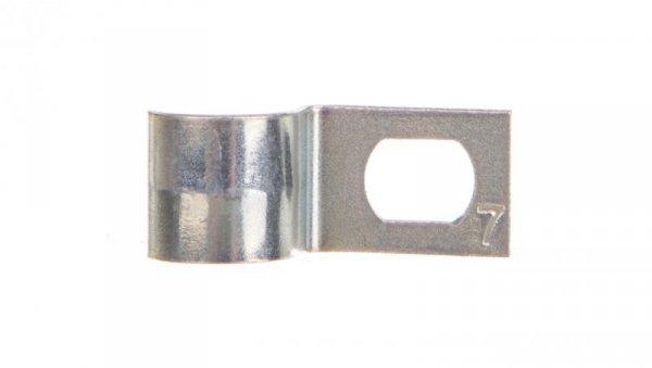 Uchwyt metalowy do rur i kabli 7mm 604 7 G 1003070 /100szt./
