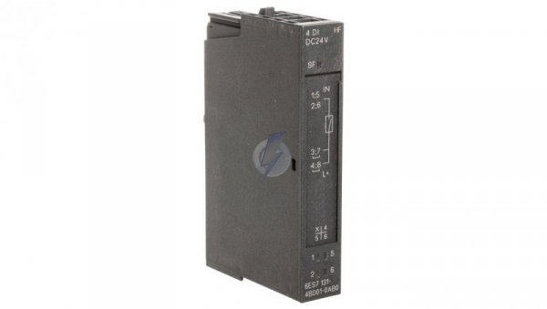 Moduły 4 wejść binarnych do ET 200S 24V DC 6ES7131-4BD01-0AB0 /5szt./