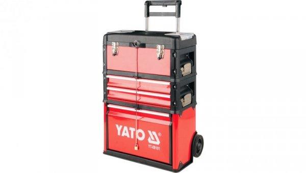 Wózek narzędziowy 3-częściowy na kołach YT-09101