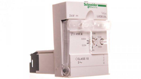 Blok wyzwalacza 3-biegunowy ochrona silnika 8-32A 24VDC LUCB32BL