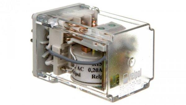 Przekaźnik przemysłowy 3P 10A 0,2V AC AgCdO R15-1013-23-7020 611263