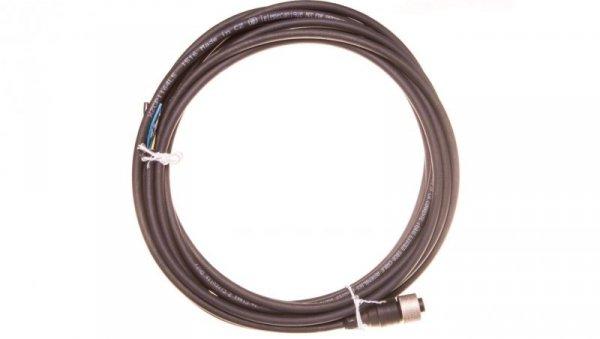 Przewód ze złączem żeńskim M12 5-pinowe proste z kablem 5m XZCP1164L5