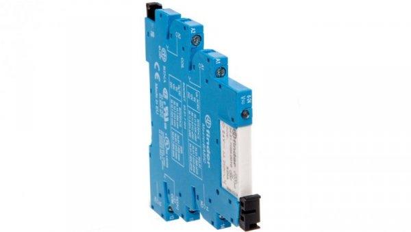 Przekaźnikowy moduł sprzęgający 6,2mm MasterBASIC 1P 6A 24VAC/DC styki AgNi zaciski śrubowe 39.11.0.024.0060
