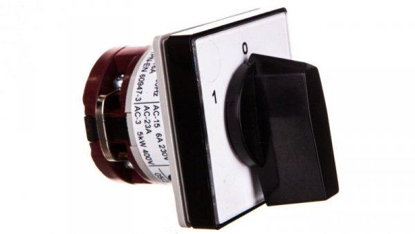 Łącznikkrzywkowy 1-0-2 1P 10A 1Pdowbudowania IP55 4G10-51-U S1