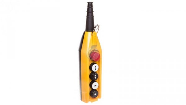 Kaseta sterownicza kompletna 4 przyciski 22mm + 1 30mm T0-PV5E30B42