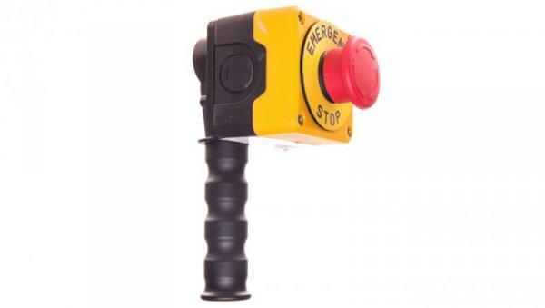 Drążek sterowniczy z przyciskiem awaryjnego stopu metalowy T0-PDABE
