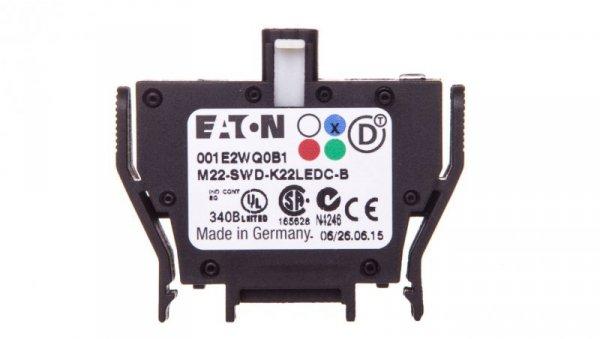 Styk pomocniczy 2P z diodą LED niebieską montaż czołowy SmartWire-DT 116010