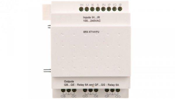 Moduł rozszerzenia8 wejść cyfrowych6 wyjścia przekaźnikowe 240V AC Zelio SR3XT141FU