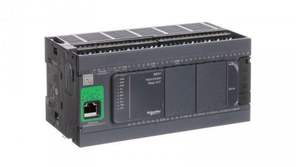 Sterownik programowalny 40 I/O przekaźnikowych Enthernet Modicon M241-24I/O TM241CE40R