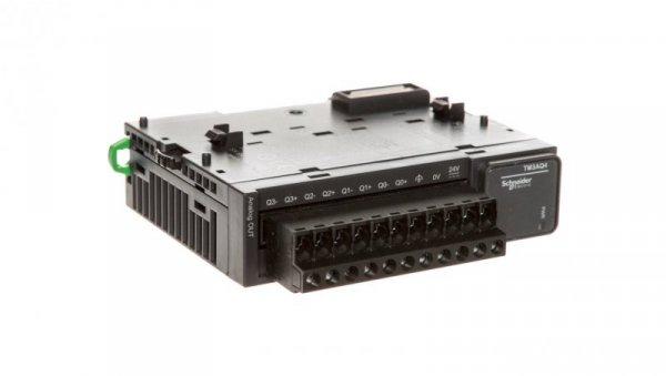 Moduł 4-wejścia analogowe Modicon TM3-4 TM3AQ4
