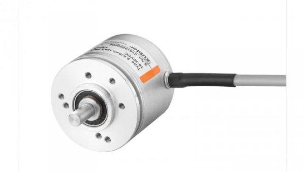 Enkoder inkrementalny wałek 6mm push-pull 10-30V DC przewód 2 metry rozdzielczość 500 imp./obr. 8.KIS40.1342.0500