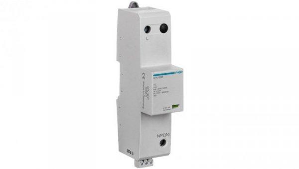 Ogranicznik przepięć B+C Typ 1+2 1P 25kA 255V 3,5kV ze stykiem sygnalizacyjnym SPN180R