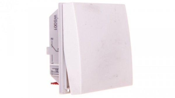 Systo Łącznik schodowy 10A 2M moduły biały WS001