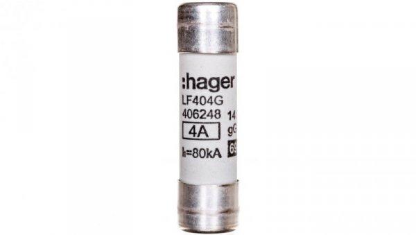 Bezpiecznik cylindryczny BiWtz 14x51 gG 4A LF404G /10szt./