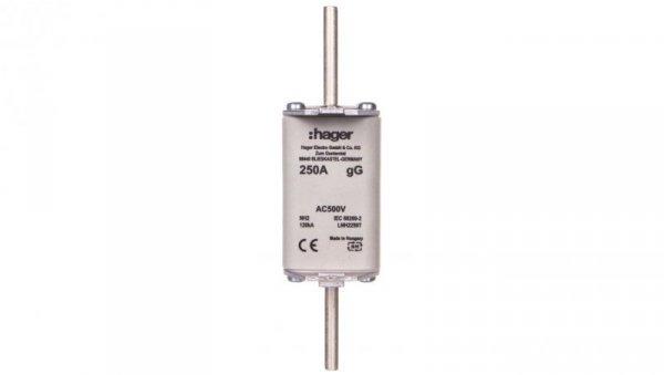 Wkładka bezpiecznikowa zwłoczna NH2C 250A AC 500V gG LNH2250T