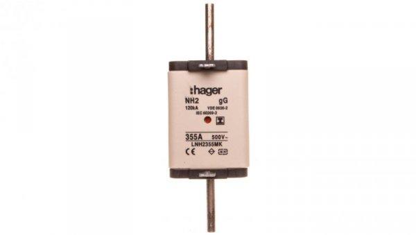 Wkładka bezpiecznikowa NH2 355A 500V gG LNH2355MK
