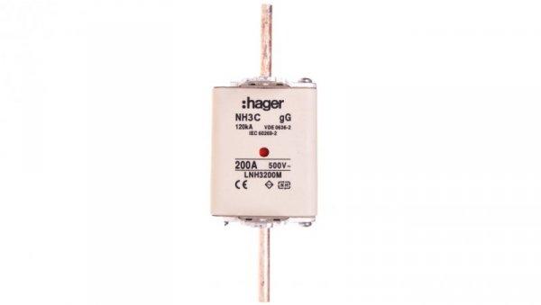Wkładka bezpiecznikowa NH3C 200A 500V gG LNH3200M
