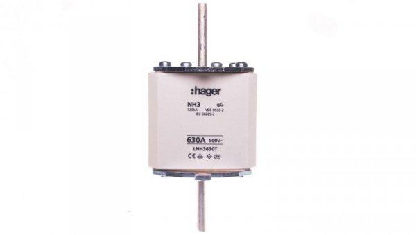 Wkładka bezpiecznikowa zwłoczna NH3 630A AC 500V gG LNH3630T