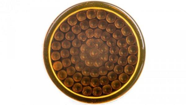 Wskażnik świetlny O 12, IP40, żółtopom., osłonięty LED, 24 V XVLA335
