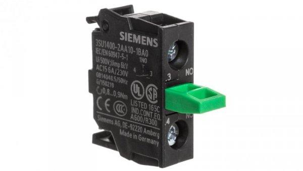 Blok styków 1Z montaż do ścianki tylnej Sirius ACT 3SU1400-2AA10-1BA0