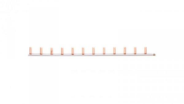 Szyna łączeniowa 1P 10 mm2 sztyftowa 12 modułowa do cięcia (2 zaślepki w komplecie) 5ST3730