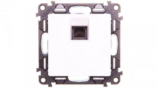 VALENA LIFE Gniazdo telefoniczne pojedyncze RJ11 biały 753138