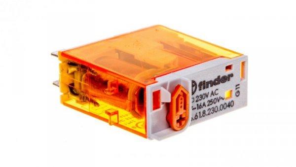 Przekaźnik miniaturowy 1P 16A 230V AC 46.61.8.230.0040