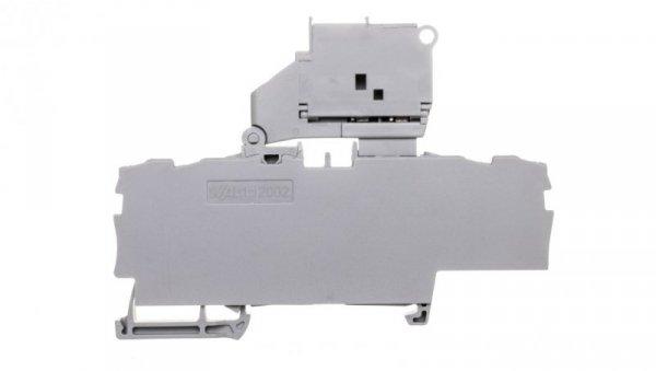 Złączka bezpiecznikowa 2,5mm2 szara TOPJOBS 2002-1811/1000-541