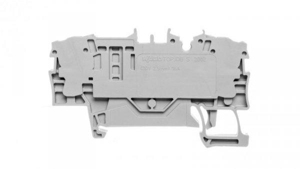 Złączka 2-przewodowa 2,5mm2 bezpiecznikowa szara TOPJOBS 2002-1681